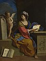Guercino - The Cumaean Sibyl with a Putto, 1651.jpg