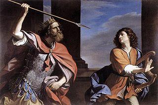 דוד ושאול - ארמון ברבריני