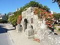Guerlesquin 38 Porte du jardin de la place du Champ de Bataille.jpg