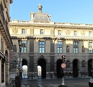 """English: The """"guichets du Louvre"""" (L..."""
