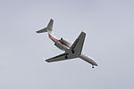 Gulfstream G450 N818KE on Final Approach at Taipei Songshan Airport 20150201b.jpg