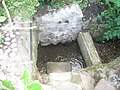 Gully in stream at St Mary's Church - geograph.org.uk - 2109513.jpg