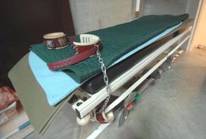 Guantanamo force feeding - Gurney with leg restraints