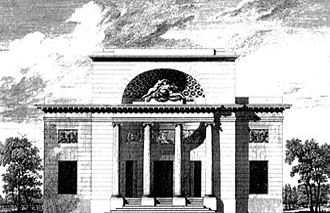 Marie-Madeleine Guimard - Hôtel Guimard, by Ledoux, designed ca. 1766