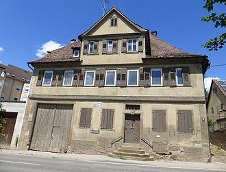 Friedrich Hölderlin - Friedrich Hölderlin's birthplace, Lauffen am Neckar