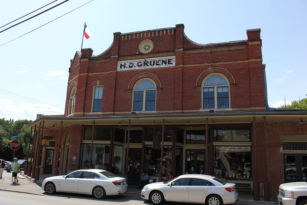 ... in Gruene aside from the water tower (and of course Gruene Hall