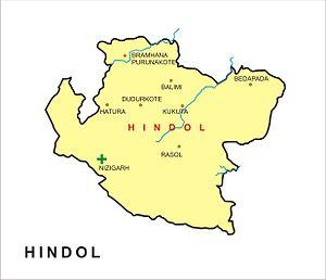 Hindol, Odisha - Hindol State established in 1554