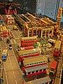 HKPIEG Infrastructure Gallery exhibit - TST 尖沙咀 往昔建築物 Lego model past May-2013 old Salisbury Road.JPG