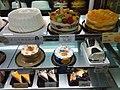 HK TKL 調景嶺港鐵站 Tiu Keng Leng MTR Station concourse shop 美心西餅 Maxim's Cake 張志霖 ChiLam 天使 angel white 生日忌廉蛋糕 Birthday cream cakes April 2019 SSG 03.jpg