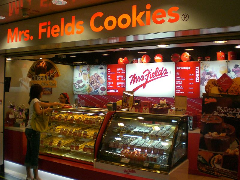 File:HK Wan Chai MTR Station Mrs Fields Cookies 1.JPG