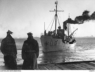 HMAS <i>Goorangai</i> Auxiliary minesweeper of the Royal Australian Navy