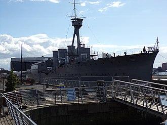HMS Caroline (1914) - HMS Caroline as a Museum Ship.
