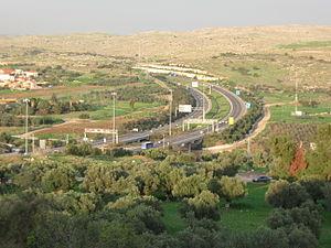 Highway 6 (Israel) - Kvish Shesh