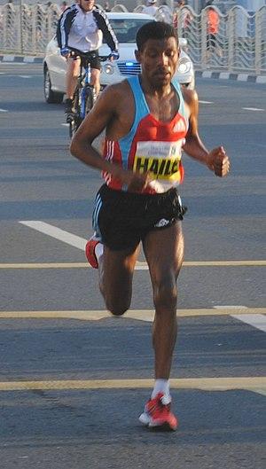 Madrid Marathon - Haile Gebrselassie won the inaugural 10K race in 2010
