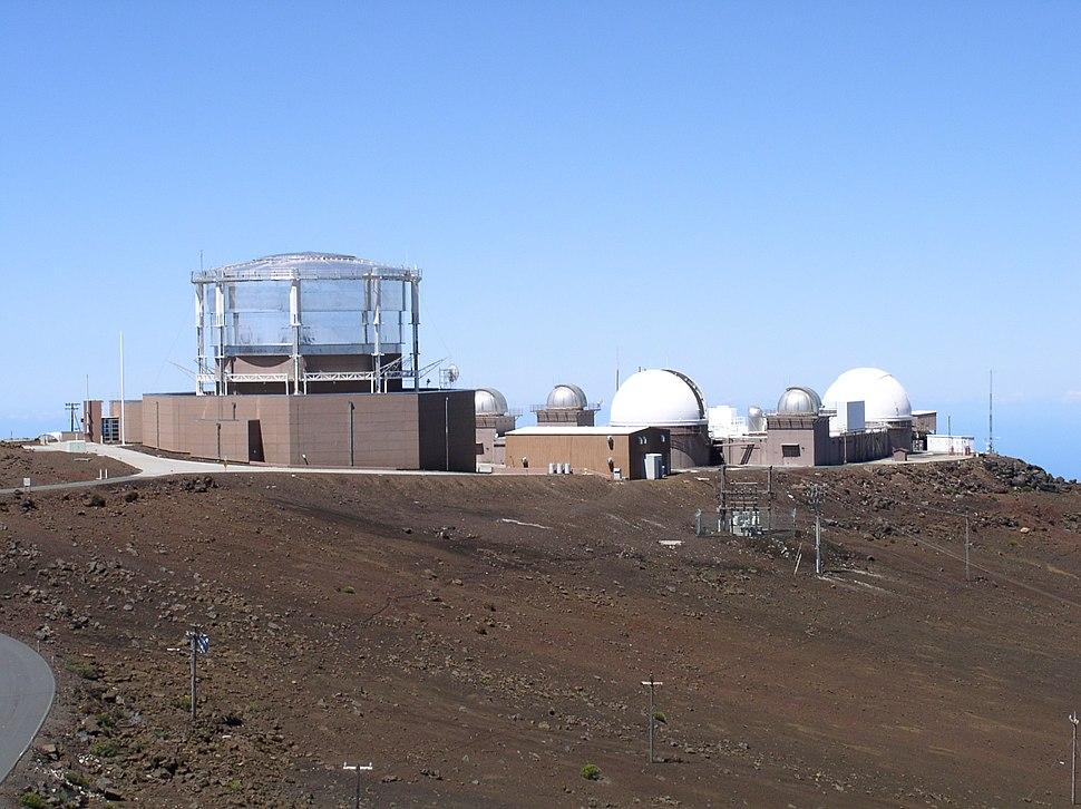 Haleakala telescopes