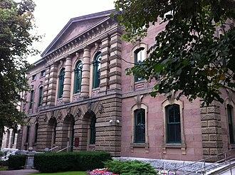 George Lang (builder) - Image: Halifax Court Building By George Lang