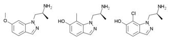 AL-34662 - Image: Hallucinogenic indazoles