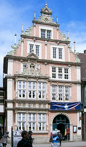 Hamelin - Image: Hameln Leisthaus