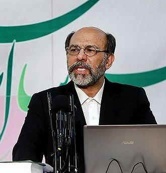 Hamid Mirzadeh - At the 68th congress of Azad University, February 2014