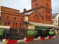 Hamilton Square railway station, closed for refurbishment (2).jpg