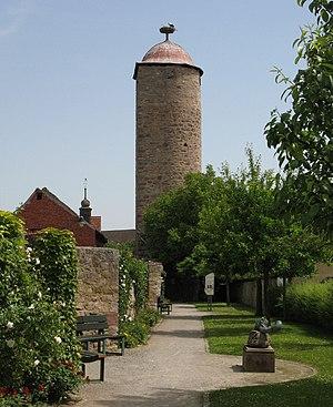 Hammelburg - Image: Hammelburg Moenchsturm