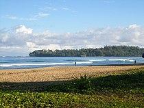 Hanalei Bay from Wai'oli Beach Park.JPG