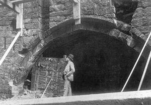 Hanging Bridge - Hanging Bridge was excavated in 1892.