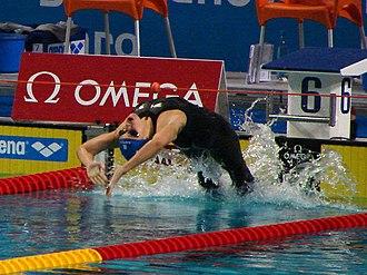 Hanna-Maria Seppälä - Seppälä at the 2008 European Aquatics Championships in Eindhoven