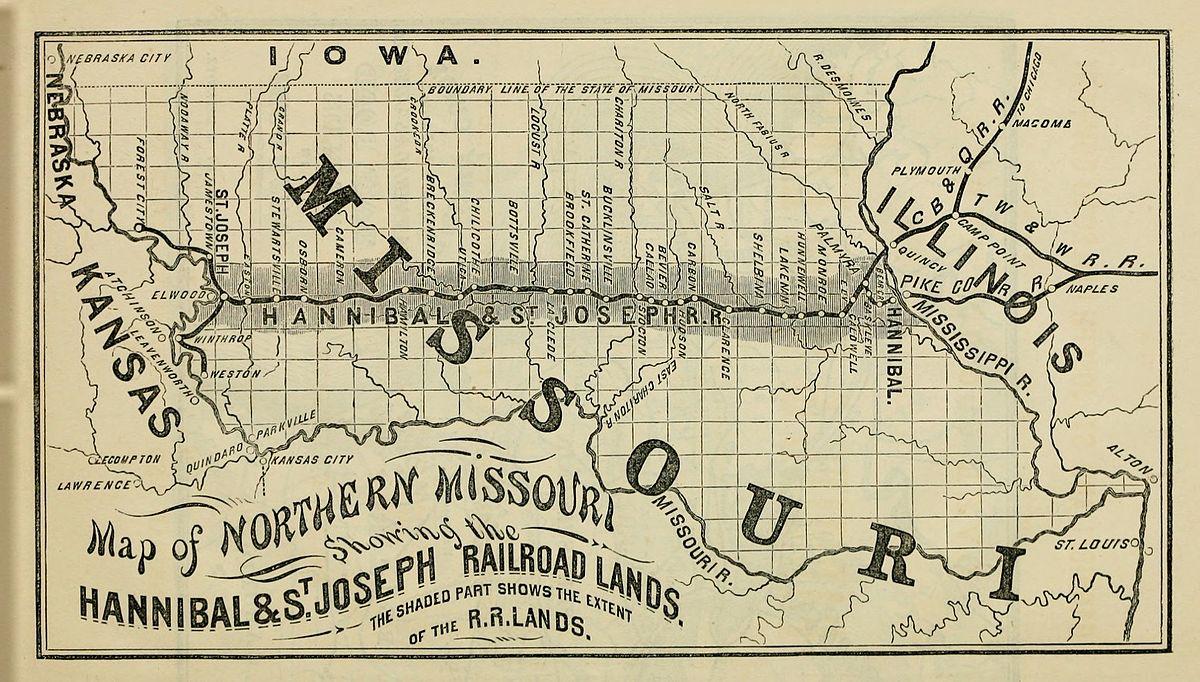 Hannibal And St Joseph Railroad Wikipedia