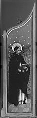 Altarflügel: Hl. Dominikus (?)