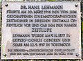 Hans Lehmann, Gedenktafel auf dem Friedhof von Todtmoos.jpg