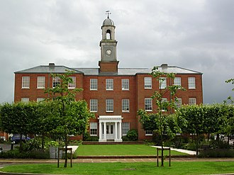 Knowle Hospital - Former main asylum building, now apartments