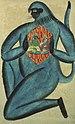 Hanuman with Rama and Sita in his heart (6124500373).jpg