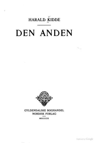 File:Harald Kidde - Den Anden.djvu