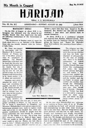 Harijan - Harijans newspaper
