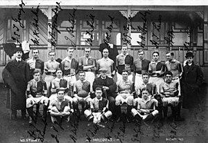Harlequin F.C. - A Harlequin F.C. team pre World War I.
