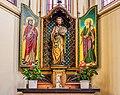 Harlingen. Sint-Michaëlkerk. Zijaltaar. HDR. 12-07-2021. (d.j.b) 01.jpg