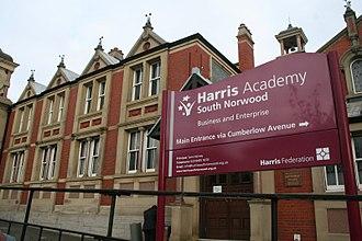 Harris Academy South Norwood - Harris Academy South Norwood