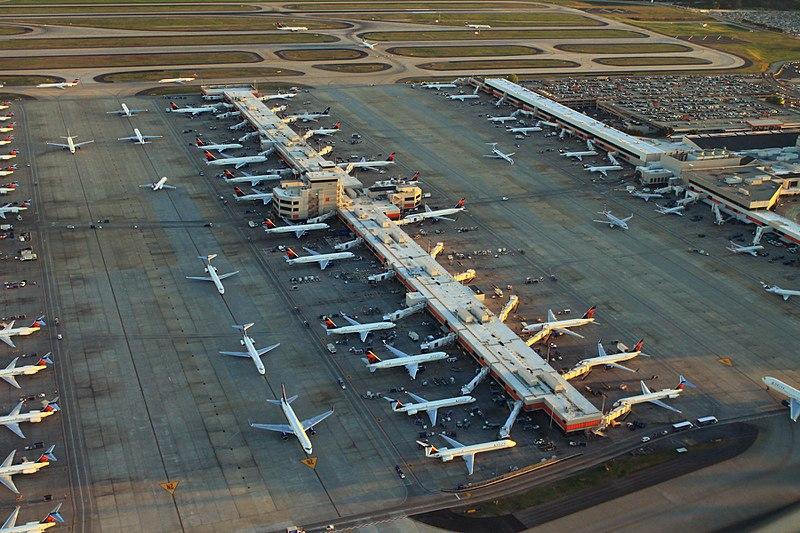 Como ir do aeroporto de Atlanta para o centro?