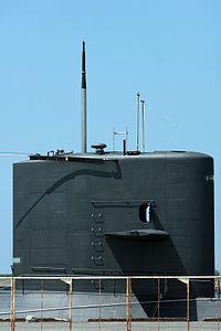 Harushio class submarine, -Port of Sakata -6 Aug. 2010 b.jpg