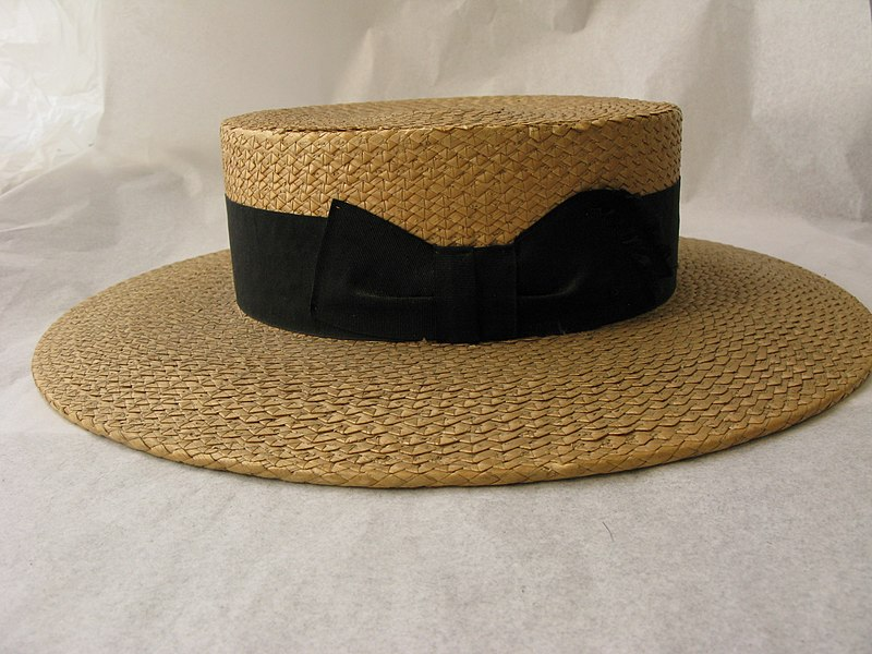 File:Hat, boater (AM 1968.105-1).jpg
