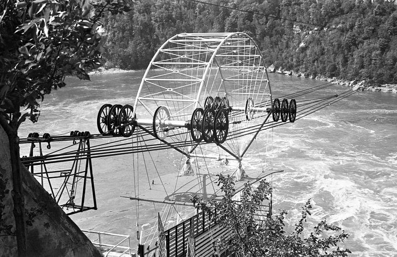 File:Határa. Kötélpálya a Niagara folyó felett. Fortepan 16941.jpg