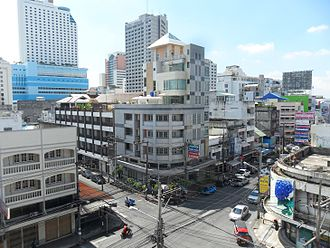 Hat Yai - The central area of Hat Yai city