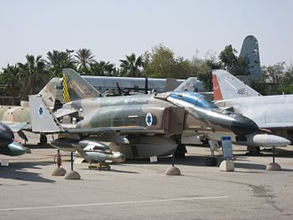 Operation Rimon 20 - Israeli Air Force 69 Squadron F-4E Phantom II.