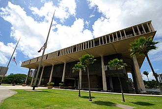 Hawaii Senate - Image: Hawaii State Capitol (8049670012)