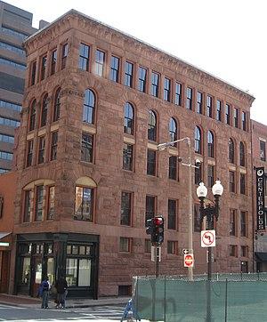 Hayden Building - Image: Hayden Bldg Bos