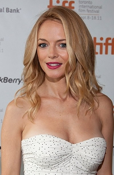 Heather Graham, American actress, director, and writer