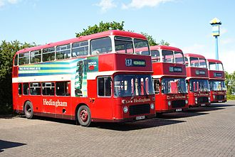 Hedingham - Preserved Bristol VRs in June 2009