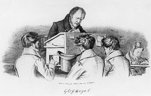 Either/Or - Hegel giving a lecture