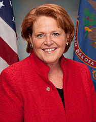 Senator Heidi Heitcamp of North Dakota